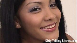 Authoritative Asian mistress handjob suck off mixture